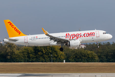 Airbus A320-251N - TC-NBR operated by Pegasus Airlines