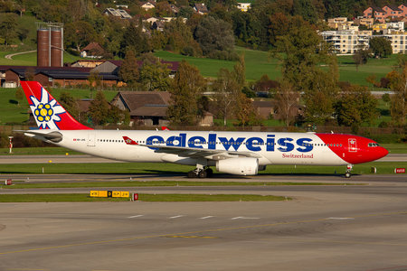 Airbus A330-343E - HB-JHQ operated by Edelweiss Air