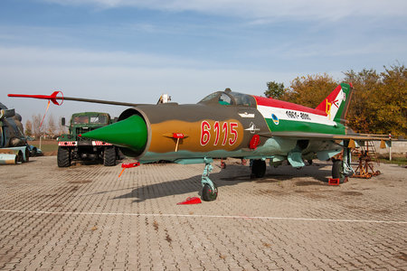 Mikoyan-Gurevich MiG-21bis - 6115 operated by Magyar Légierő (Hungarian Air Force)