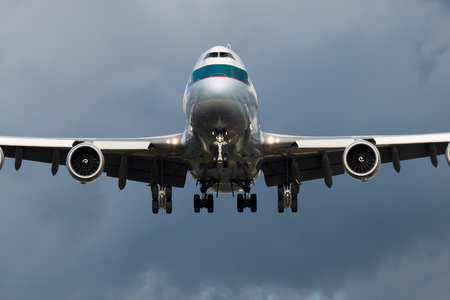 Boeing 747-8F - B-LJJ operated by Cathay Pacific Cargo