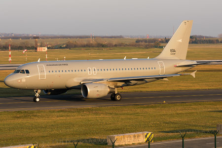 Airbus A319-112 - 604 operated by Magyar Légierő (Hungarian Air Force)
