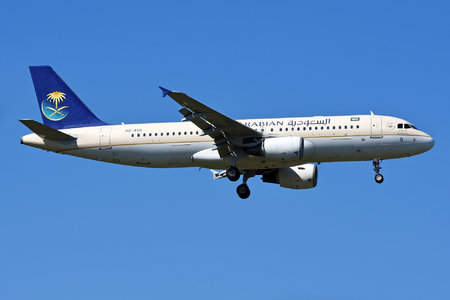 Airbus A320-214 - HZ-ASD operated by Saudi Arabian Airlines