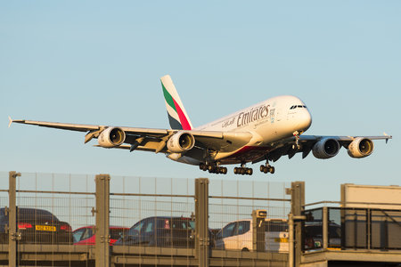 Airbus A380-861 - A6-EEJ operated by Emirates