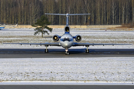 Tupolev Tu-154M - EW-85741 operated by Belavia Belarusian Airlines