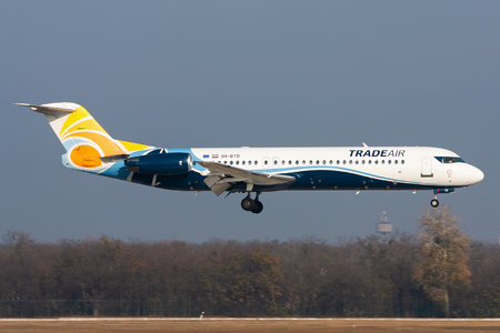 Fokker 100 - 9A-BTD operated by Trade Air