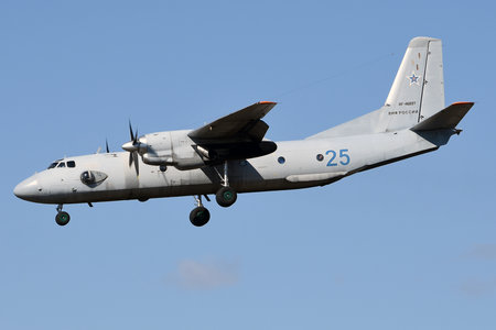 Antonov An-26 - RF-46897 operated by Voyenno-morskoy flot Rossii (Russian Navy)