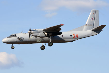Antonov An-26 - RF-90319 operated by Voyenno-vozdushnye sily Rossii (Russian Air Force)