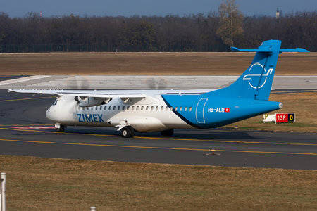 ATR 72-212A - HB-ALR operated by Zimex Aviation