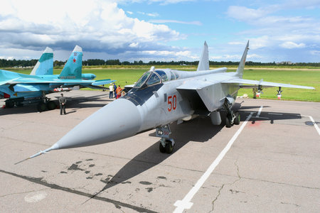 Mikoyan-Gurevich MiG-31BS - RF-92382 operated by Voyenno-vozdushnye sily Rossii (Russian Air Force)
