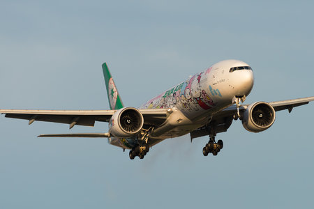Boeing 777-300ER - B-16703 operated by EVA Air