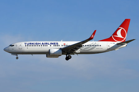 Boeing 737-800 - TC-JGR operated by Turkish Airlines