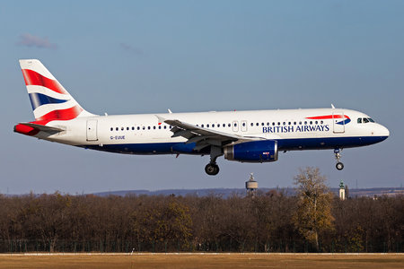 Airbus A320-232 - G-EUUE operated by British Airways
