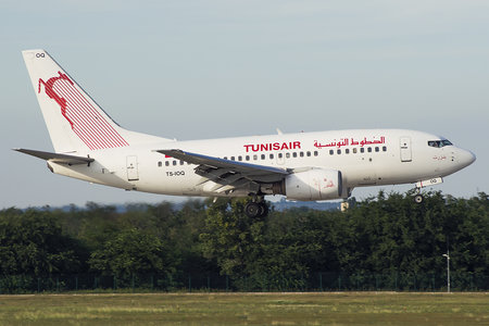 Boeing 737-600 - TS-IOQ operated by Tunisair