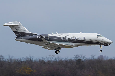Bombardier Challenger 350 (BD-100-1A10) - OO-WEG operated by Abelag Aviation