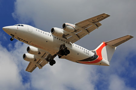 British Aerospace Avro RJ85 - G-JOTR operated by Jota Aviation