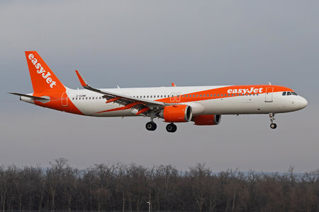 Airbus A321-251NX - G-UZMB operated by easyJet