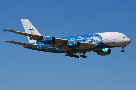 Airbus A380-841 - 9H-MIP operated by Hi Fly Malta