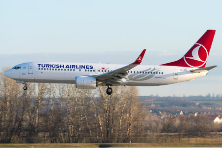Boeing 737-800 - TC-JHL operated by Turkish Airlines