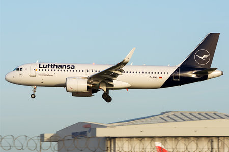 Airbus A320-271N - D-AINL operated by Lufthansa
