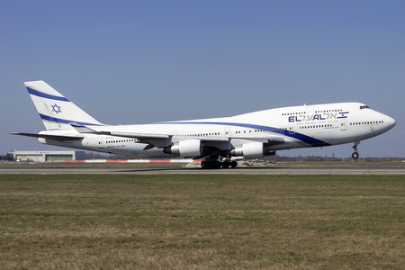 Boeing 747-400 - 4X-ELC operated by El Al Israel Airlines