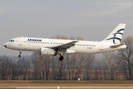 Airbus A320-232 - SX-DGV operated by Aegean Airlines