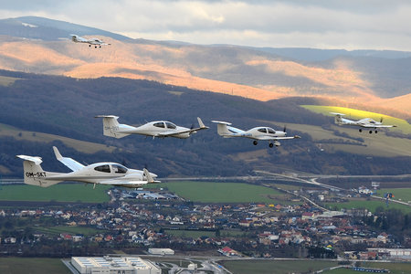 Diamond DA42 Twin Star - OM-SKT operated by SEAGLE SK.ATO.02