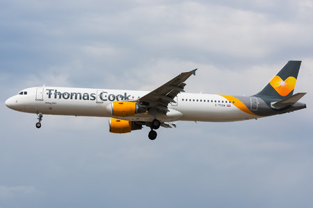 Airbus A321-211 - G-TCDW operated by Thomas Cook Airlines