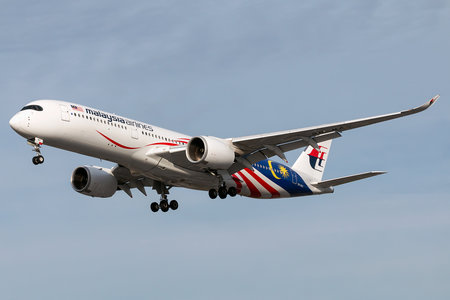Airbus A350-941 - 9M-MAC operated by Malaysia Airlines