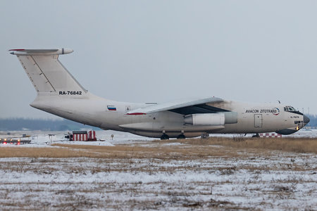 Ilyushin Il-76TD - RA-76842 operated by Aviacon Zitotrans
