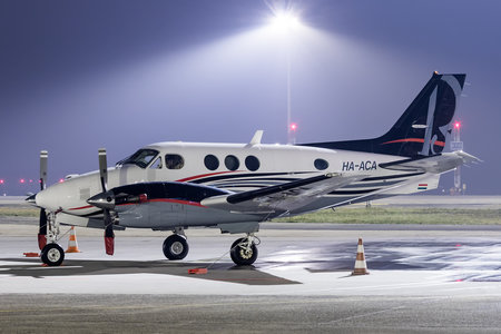 Beechcraft C90B King Air - HA-ACA operated by Private operator