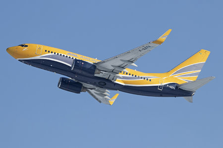 Boeing 737-700 - F-GZTS operated by ASL Airlines France