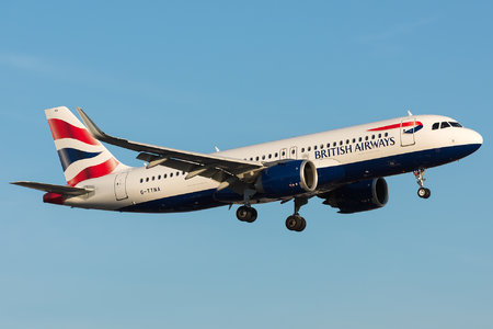 Airbus A320-251N - G-TTNA operated by British Airways