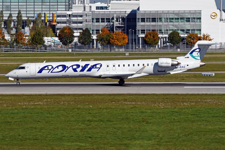 Bombardier CRJ900LR - S5-AAU operated by Adria Airways