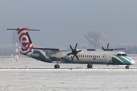 Bombardier DHC-8-Q402 Dash 8 - SP-EQE operated by LOT Polish Airlines