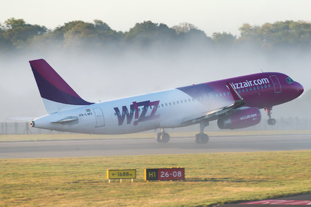 Airbus A320-232 - HA-LWU operated by Wizz Air