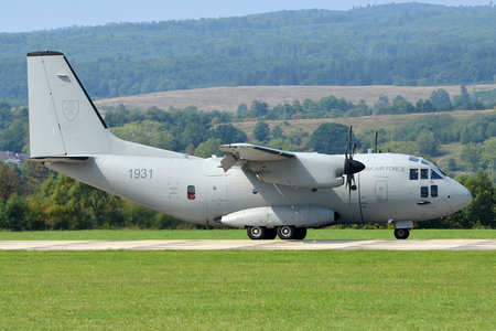 Leonardo C-27J Spartan - 1931 operated by Vzdušné sily OS SR (Slovak Air Force)