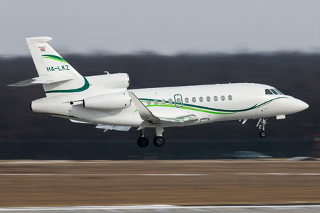 Dassault Falcon 900LX - HA-LKZ operated by Private operator