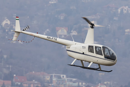 Robinson R44 Raven II - HA-FTX operated by Fly-Coop