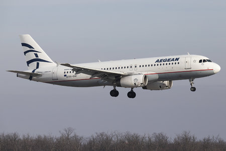 Airbus A320-232 - SX-DGC operated by Aegean Airlines