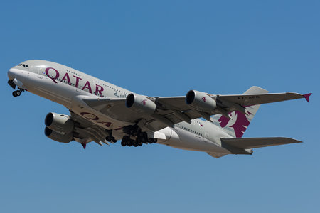 Airbus A380-861 - A7-APB operated by Qatar Airways