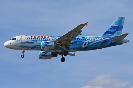 Airbus A319-111 - VQ-BAS operated by Rossiya Airlines