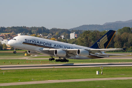 Airbus A380-841 - 9V-SKW operated by Singapore Airlines