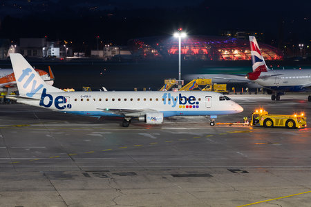 Embraer 170-200STD - G-FBJI operated by Flybe