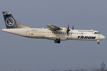 ATR 72-212A - YR-ATH operated by Tarom