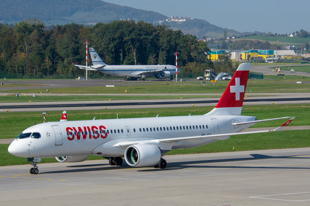 Bombardier BD-500-1A11 C Series CS300 - HB-JCD operated by Swiss International Air Lines