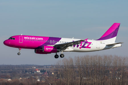 Airbus A320-232 - HA-LPU operated by Wizz Air