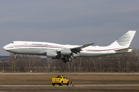 Boeing 747-8 - A7-HBJ operated by Qatar Amiri Flight