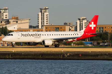 Embraer 190-100LR - HB-JVO operated by Helvetic Airways