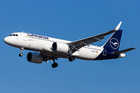 Airbus A320-271N - D-AINO operated by Lufthansa