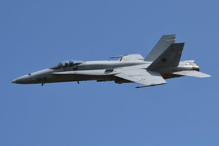 McDonnell Douglas EF-18A+ Hornet - C.15-57 operated by Ejército del Aire (Spanish Air Force)